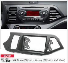 Carav 11-192 2-din Car kit marco adaptador de radio Kia Picanto Morning (TA)