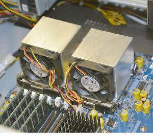 Cooler Fan CPU Intel XEON Socket 604 Aluminium Solid + Fixing