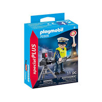 Playmobil Special Plus Police Officer With Speed Trap Building Set 70305 NEW