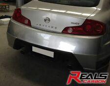 Nissan Skyine V35 350GT 250GT 2Dr WSP Style Hybrid Carbon Fiber Rear Bumper