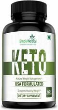 Simply Herbal Keto Capsules For Weight Loss 60 Capsules Free Ship