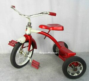 Vintage Red Childs Riding Junior Toy Division AMF Tricycle
