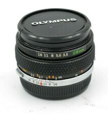 Olympus 28mm f/3.5 OM-System G. Zuiko Manual Focus Lens