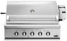 "Fisher Paykel Bh136Rn 36"" Stainless Built-in Grill (Natural Gas) Nib Hrt"
