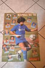 MARADONA -NAPOLI - 1985/86 - POSTER - ALLEGATO ALL'INTREPIDO SPORT