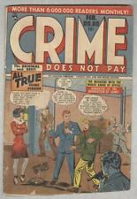 Crime Does Not Pay #60 February 1948 G+