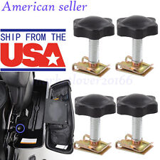 USA Saddlebag Lock Mounting Security Theft Deterrent for Harley Davidson Touring