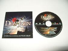 Don Juan Un Spectacle Musical De Felix Gray cd 15 tracks 2004 Rare