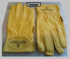 ALL PURPOSE PREMIUM  PLAINSMAN CABRETTA LEATHER GLOVES  HUNTING, DRIVING - LARGE