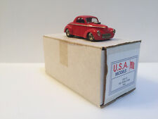 1/43 Motor City Design Studio USA Models 1941 Willys Coupe Red USA-10 Handmade