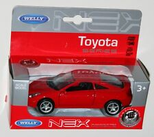 Welly - TOYOTA CELICA 2002 (Red) Model Scale 1/39