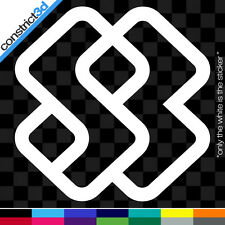 """(2x) SPECIAL BLEND 3"""" VINYL DECALS  * ANY COLOR  snowboard snowboarding ski snow"""