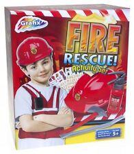 Fire Rescue Fire Man's attività Set Costume Gioco di ruolo KIT ** GRANDE REGALO **