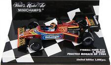 Minichamps TYRRELL FORD 012 pratica GP di Monaco 1984-Stefan Bellof 1/43 SCALA