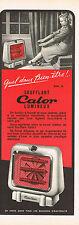 PUBLICITE ADVERTISING   1953    CALOR    soufflant lumineux