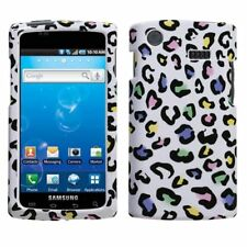 White Rainbow Leopard Case Cover Samsung Captivate i897