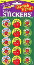 60 TREND Amazing Apples (APPLE) Scratch and Sniff reward Stickers n'
