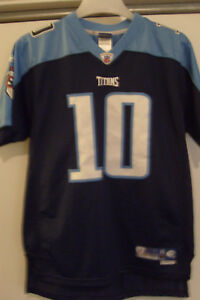 Reebok Vince Young Tennessee Titans Jersey Boys XL  Free Christmas Shipping