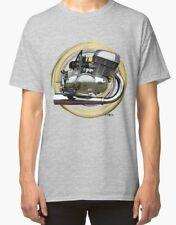 Suzuki T500 Cobra urban engine Vintage Motorcycle T Shirt INISHED Productions