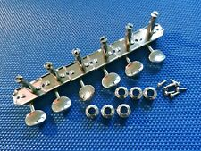 Vintage RI Fender Jazzmaster Jaguar TUNERS Tuning Pegs Nickel Guitar Parts