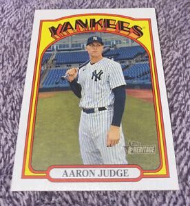 2021 Topps Heritage Aaron Judge Missing Stars Variation 1:3,072 packs Ultra SSP