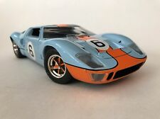 1969 FORD GT-40 LE MANS 1969 BLUEORANGE JOUEF EVOLUTION 1/18