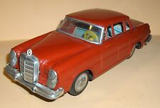 VINTAGE TIN TOY DAISHIN MERCEDES FRICTION OPERATED JAPAN