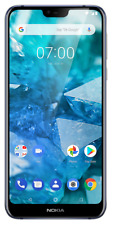 "Nokia 7.1 5.8"" Blue 3GB 32GB Android 10 WiFi Unlocked/SimFree SmartPhone C Grade"