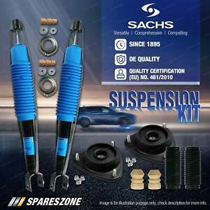 Front Sachs Shock Absorber Mount Bump Stop Kit for Volkswagen Touareg Wagon SUV