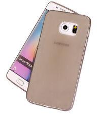 Samsung Galaxy S6 Slim Clear TPU Silicone Gel Rubber Soft Skin Case Cover