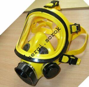 Full Face Worker Yellow Facepiece GENUINE Gas Mask Respirator GP-9 BRIZ 2016
