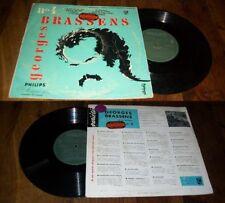 GEORGES BRASSENS - N.4 LP 25 CM French Pop Folk Philips 1956