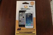 Qmadix Screen Guard Protector for the Apple iPhone 5s and 5C - Clear