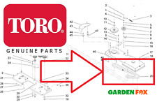 Genuine TORO DH170 DH190 DH210 DH220 Timing BELT drives both blades 104-3112 590