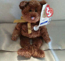 2002 NWT Ty Beanie Baby Champion Bear USA Nose FIFA World Cup Korea/Japan 2 tags