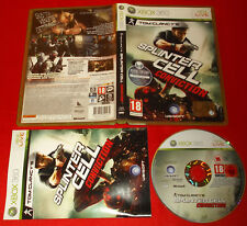 SPLINTER CELL CONVICTION XBOX 360 Versione Italiana 1ª Edizione ○ COMPLETO - FG