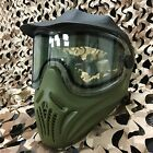 NEW Empire Invert Helix Paintball Goggle Mask w/ Thermal Anti-Fog Lens - Olive