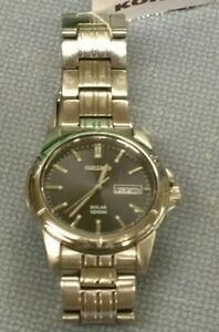 Working Seiko Solar Men's Wristwatch SNE093