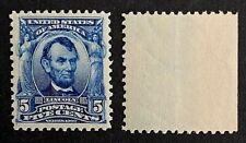US Stamps, Scott #304 5c Lincoln 1903 2004 PSE Certificate GC-XF-90 OG M/NH.