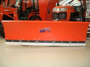 WSM Schneeschild SKP150 hydraulisch f. Kubota  u.  John Deere Traktoren, 2020