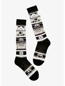 Disney Women's Star Wars Knee High Socks for Shoe Size 4-10 New