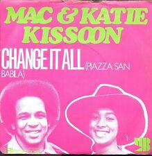 7inch MAC & KATIE KISSOON change it all  HOLLAND +PS 1972