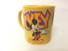 Rétro Vintage Disneyland Paris Mickey Mouse Tasse RARE rapide POSTAGE