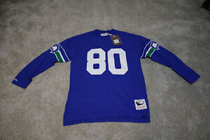 Mitchell & Ness NFL Name & Number Longsleeve Steve Largent XL