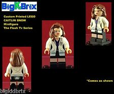 CAITLIN SNOW Killer Frost Flash TV Series DC Custom Printed LEGO Minifigure