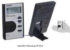 SEIKO DM71 SE METRONOMO DIGITALE TASCABILE DM 71 DISPLAY LCD tempo da 30 a 250