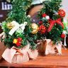 Desk Table Top Mini Christmas Xmas Christmas Tree Small Party Ornament Decor