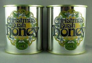 Tasmanian Christmas Bush honey, Twin Pack, 2*350gms tins, free shipping