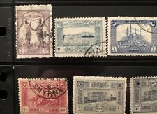 1922 TURKEY in Asia STAMPS GENOA used VF COMPLETE SET