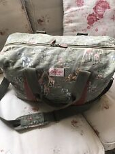 Cath Kidston Large Travel Bag Tote Canvas Animal Print weekend Luggage Safari
